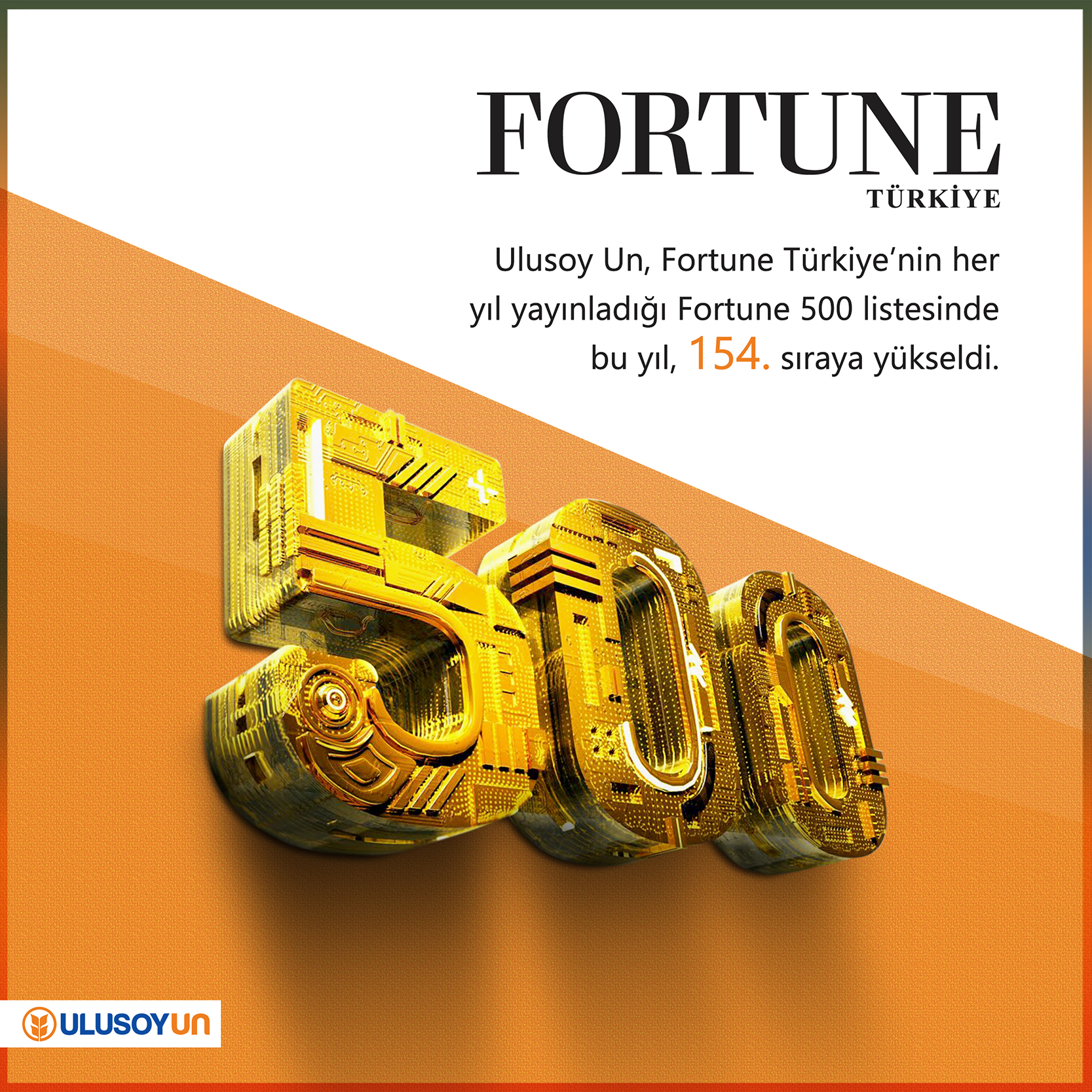 Fortune 2016, Ulusoy Un