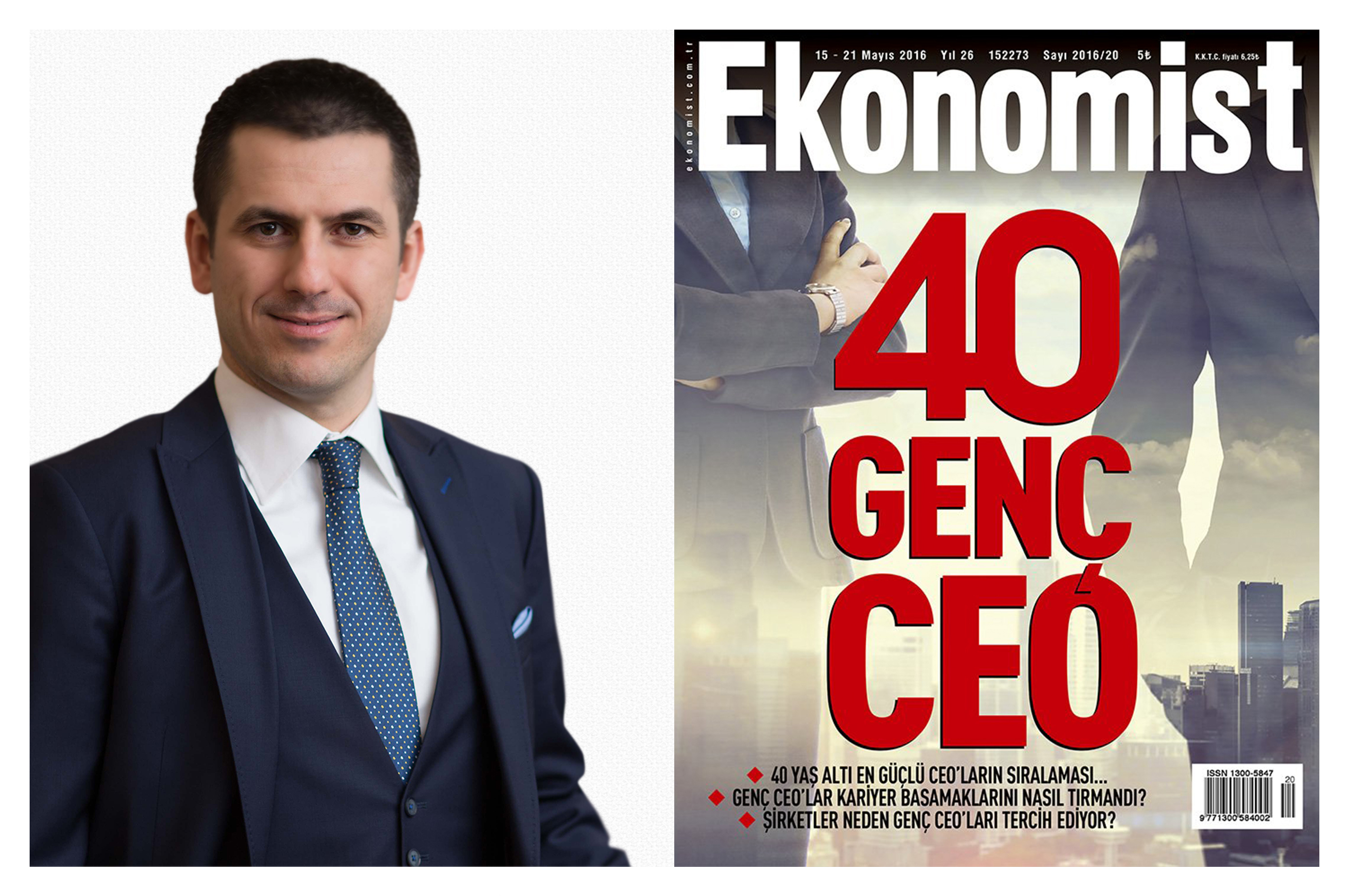 Eren Günhan Ulusoy is in the List of 40 Young CEO's